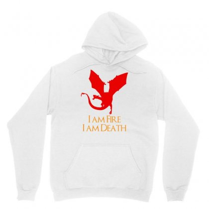 I Am Fire I Am Death Unisex Hoodie Designed By Specstore
