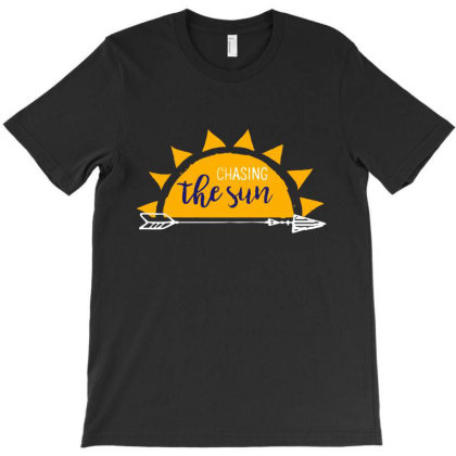 Chasing The Sun, Heidi Run T-shirt Designed By Feniavey