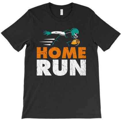Home Run Football T-shirt Designed By Feniavey