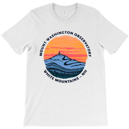 Mount Washington Observatory T-shirt Designed By Feniavey